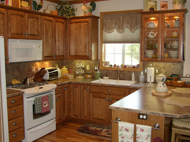 Kitchen Cabinets & Kitchens : Country Cabinets Halsey LLC